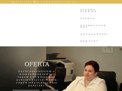 Habza Finanse - doradcy kredytowi