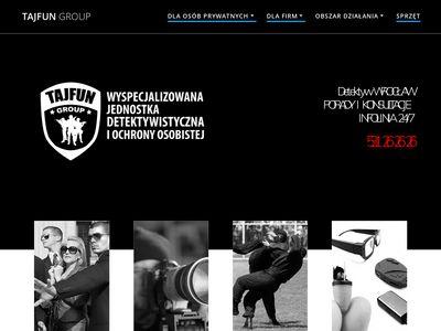 Tajfungroup.pl - prywatny detektyw Wrocław