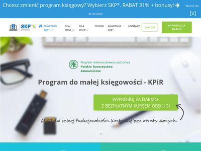 Ksiega-podatkowa.pl - mała księgowość program
