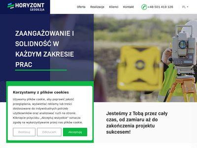 Horyzontgeodezja.pl usługi geodezyjne Olsztyn