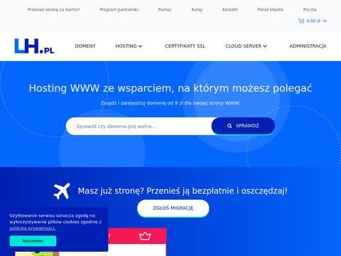 LH.pl - hosting stron www