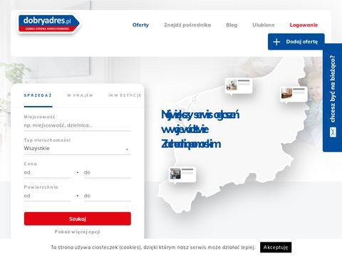 Dobryadres.pl - sprzedaż domów