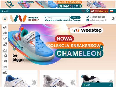 Weestep.pl - hurtownia obuwia dziecięcego