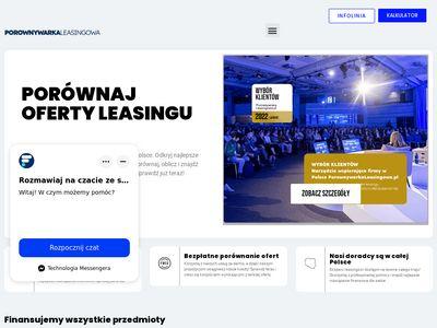 Porownywarkaleasingowa.pl - leasing operacyjny