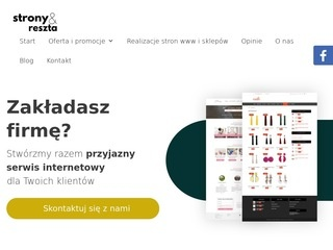 Stronyireszta.pl - tworzenie stron internetowych