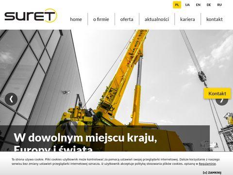Suret-relokacje.pl - relokacja maszyn