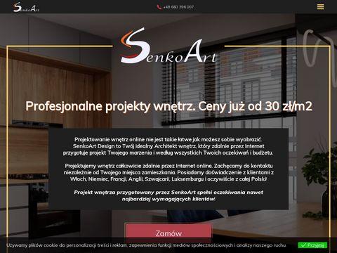 Senkoart Design projektowanie wnętrz online