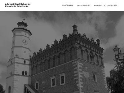Sandomierz-adwokat.pl kancelaria Karola Dębowskiego