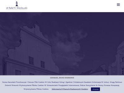 Radcawasilewski.pl kancelaria prawna