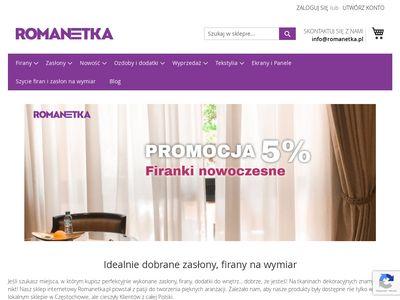 Romanetka.pl - prześcieradła frotte z gumką