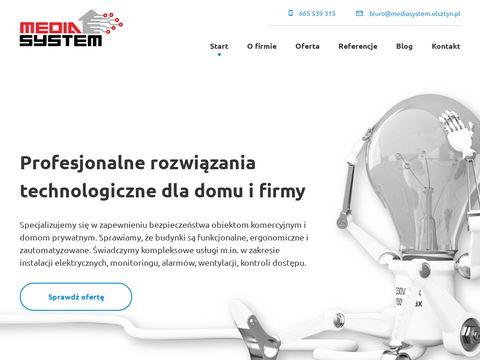 Media System Olsztyn - alarmy