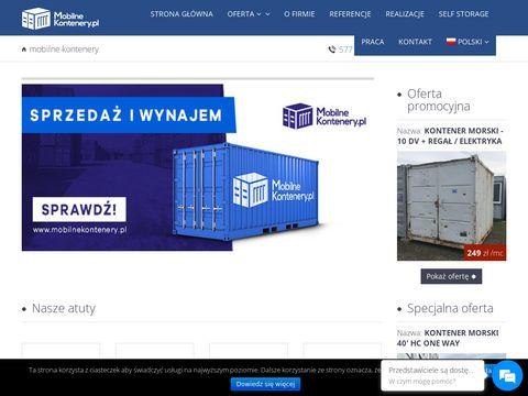 Mobilnekontenery.pl - sprzedaż wynajem