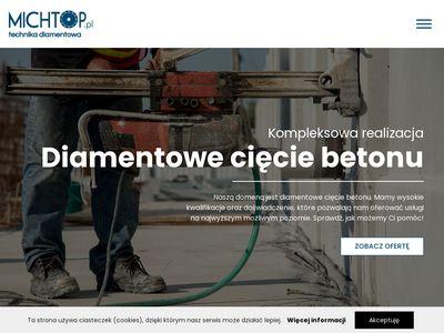 Michtop.pl cięcie betonu