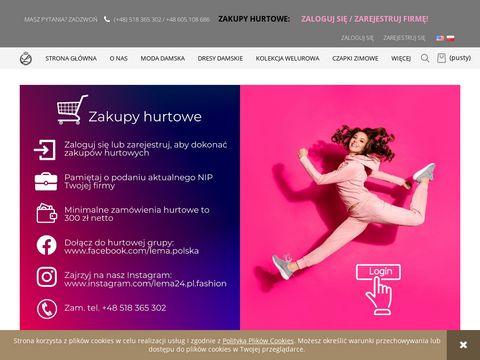 Lema24.pl - odzież damska hurt