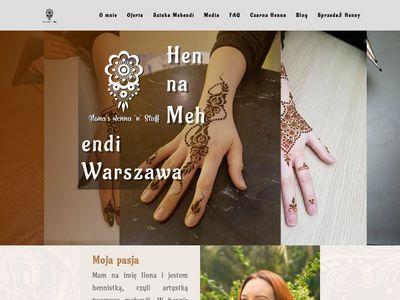 Henna Mehendi Warszawa sahara