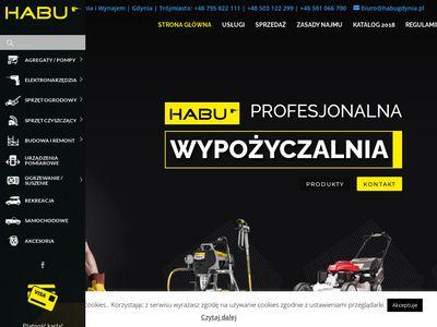 Habu - wypożyczalnia sprzętu budowlanego Gdynia