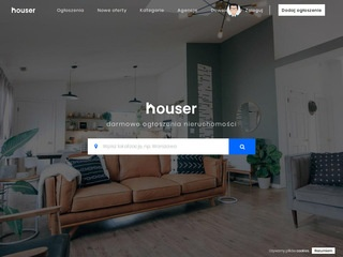Houser.pl nieruchomości w internecie
