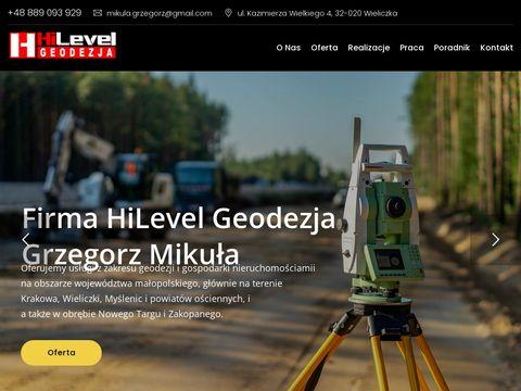 Hilevelgeodezja.pl - pomiary geodezyjne Kraków