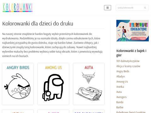Kolorowanki.info.pl edukacyjne