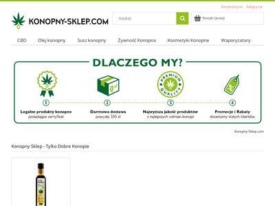 Konopny-sklep.com - legalne konopie