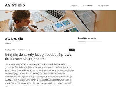 A&G Dance Studio - szkoła tańca Rzeszów