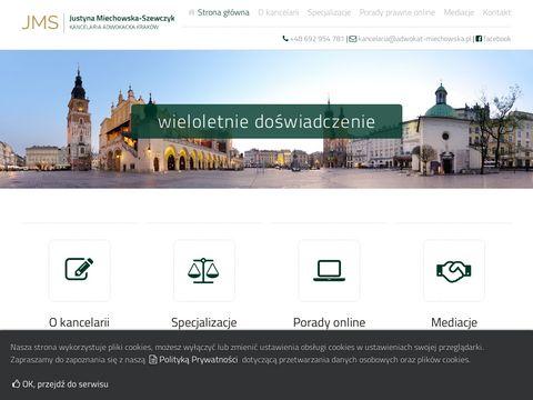 Adwokat-miechowska.pl Kraków