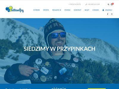 Buttonfly.pl - przypinki reklamowe na zamówienie