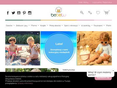 Bebetu.pl zabawki dla dzieci - sklep