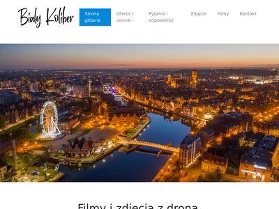 Bialykoliber.pl filmy i zdjęcia z drona - Gdańsk