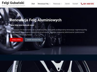 Felgigubanski.pl - renowacja felg aluminiowych