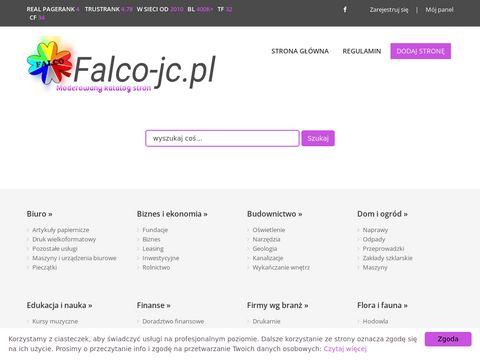 Falco katalog stron www