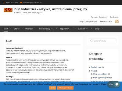 Łożyska i smary DLG Industries