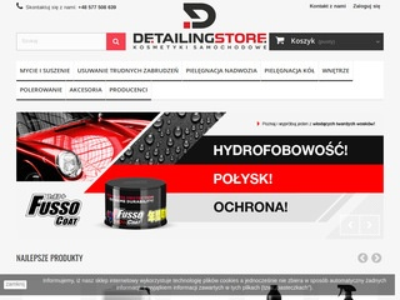 Detailingstore.pl kosmetyki do samochodu