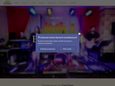 Eventeam.net.pl zespół muzyczny Warszawa