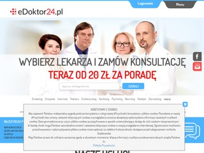 Lekarze online - e-wizyty - edoktor24.pl