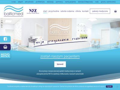 Balticmed.pl - przychodnia Szczecin