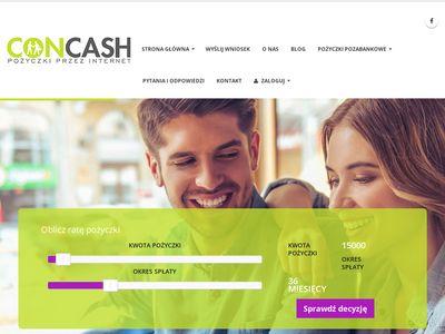 Kredyt dla zadłużonych - concash.pl