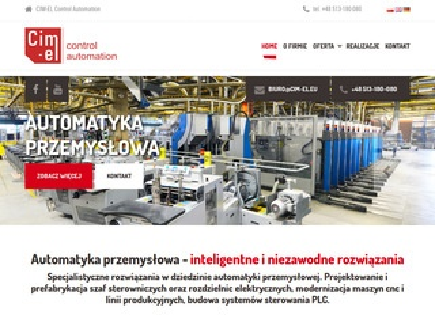 Cim-el.eu modernizacja maszyn cnc Gdańsk