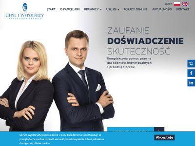 Chyl.pl pomoc prawna Warszawa