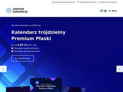 Centrumkalendarzy.pl - kalendarze trójdzielne