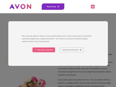 Avon-rejestracja.pl jak zostać konsultantką