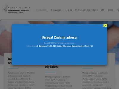 Alterklinik.pl dożylna terapia witaminowa Kraków