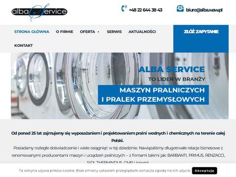 Alba - pralki przemysłowe