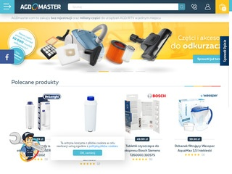 Agdmaster.com części