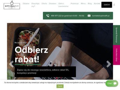Dietetyczne dania Kraków - Optimal Fit