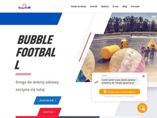 Loopyball.pl bubble football