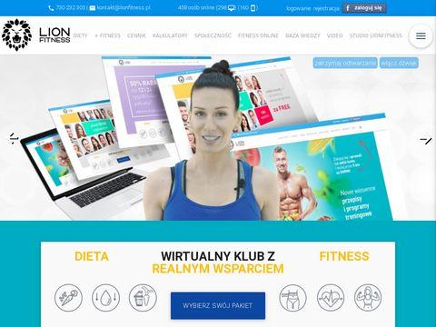 Lion fitness specjaliści od aktywności fizycznej