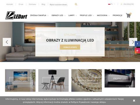 Ledart - lampy i obrazy