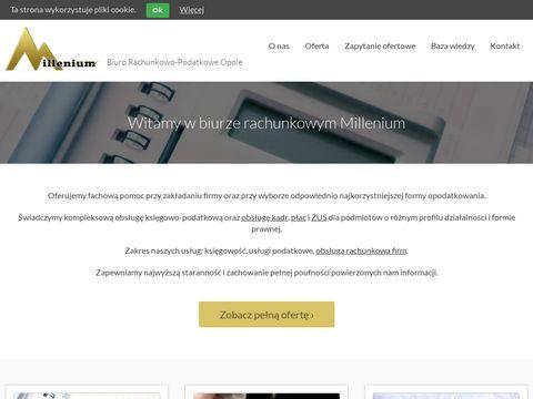 Biuro rachunkowo-podatkowe Millenium w Opolu