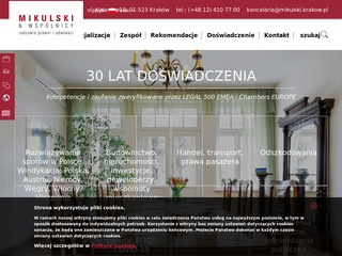 Mikulski.krakow.pl szkody pracownicze Kraków